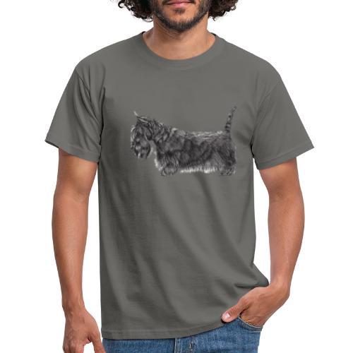 skotsk terrier ub - Herre-T-shirt
