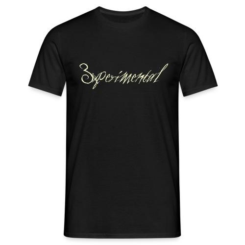 3xperimental tshirt - T-shirt Homme