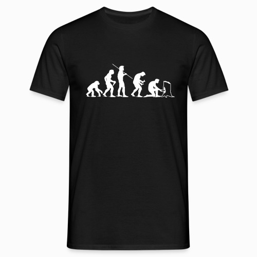 Evolution of Geocaching - Männer T-Shirt