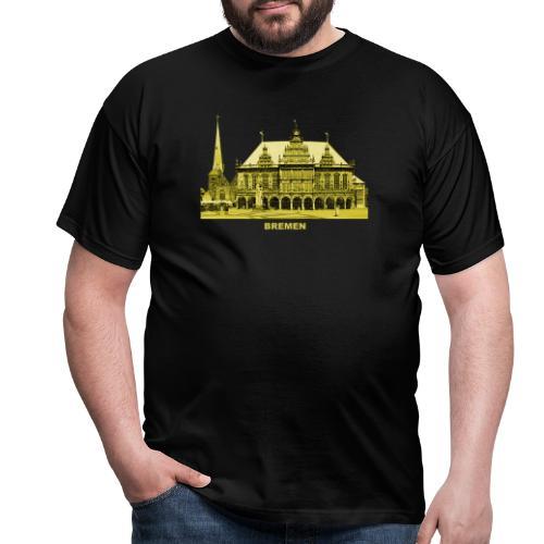 Bremen Rathaus Roland Hansestadt Deutschland - Männer T-Shirt