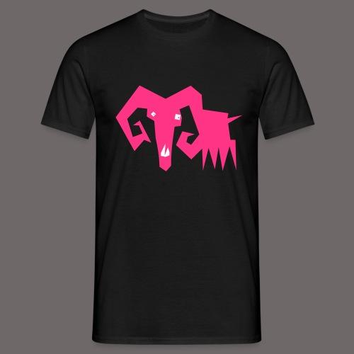 grosse ziege - Männer T-Shirt
