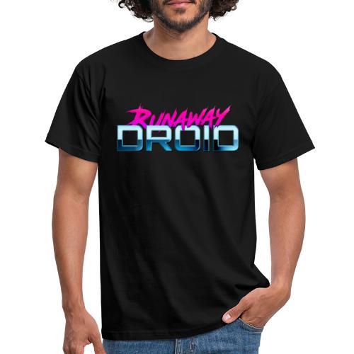 Runaway Droid Logo - Men's T-Shirt