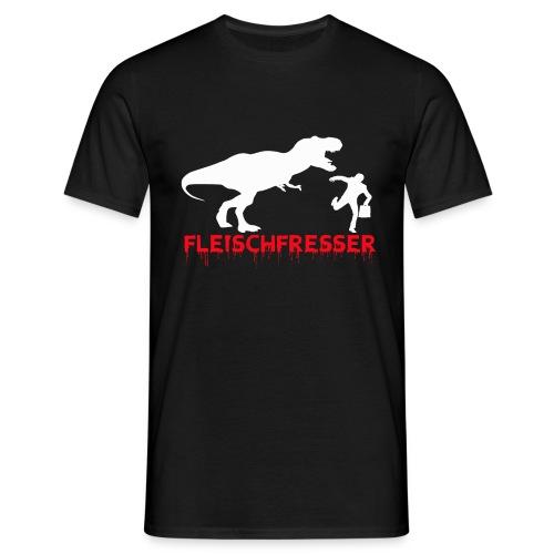 fleisch rot - Männer T-Shirt