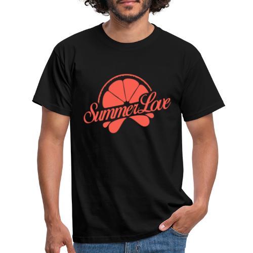 Logo Summer Love 00 - Mannen T-shirt