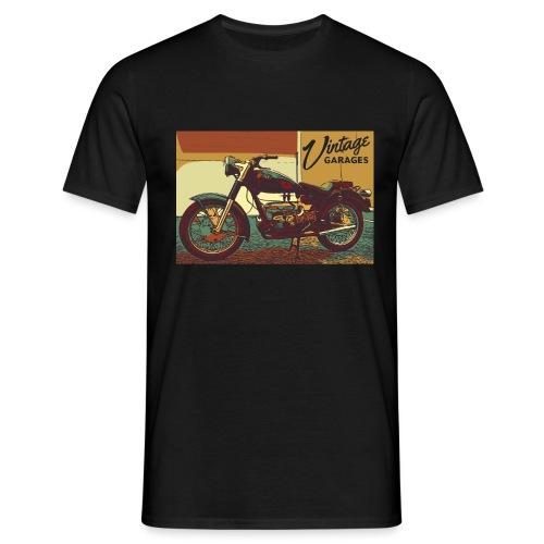 Vintage garage - Maglietta da uomo