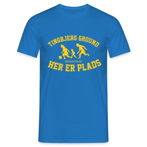 Tingbjerg Ground - her er plads - Herre-T-shirt