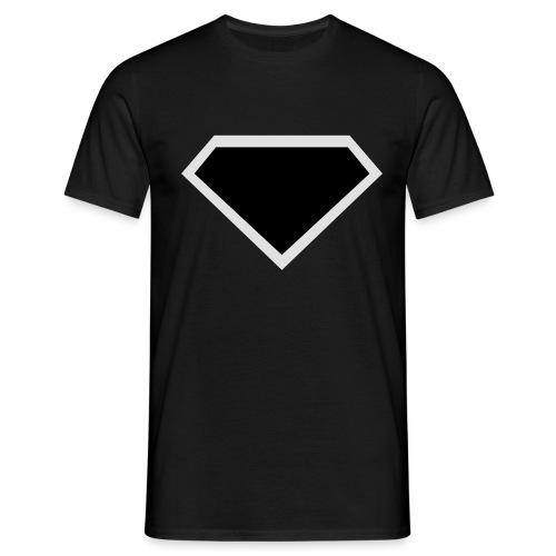 Diamond Black - Two colors customizable - Mannen T-shirt