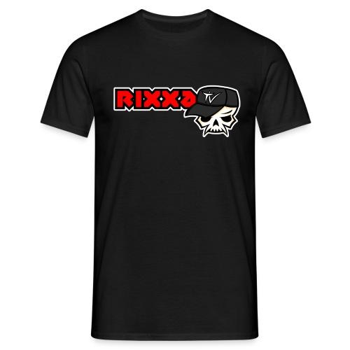 RixxaTV Logo NoBG - Miesten t-paita