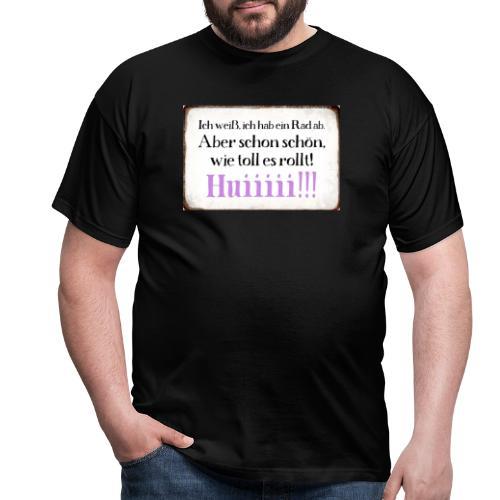 Es rolllllltttt !!! - Männer T-Shirt