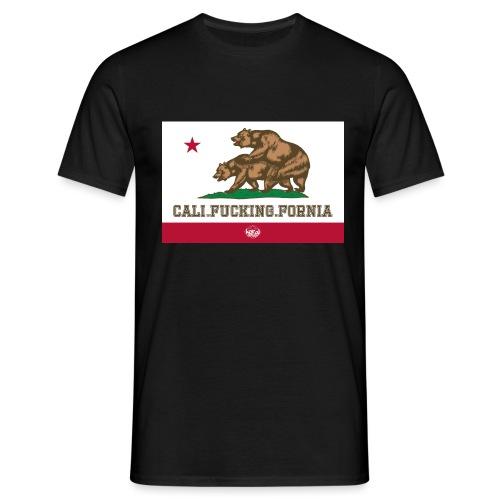California, Californiano, Fuck, Orso - Maglietta da uomo