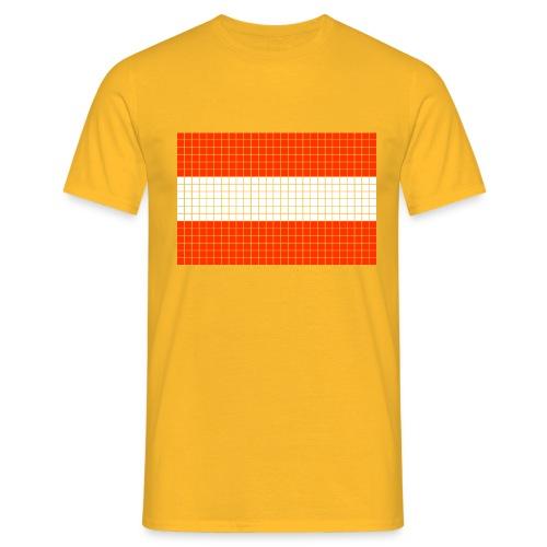 austrian flag - Maglietta da uomo