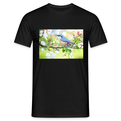 spring bird 2295431 1920 - Männer T-Shirt