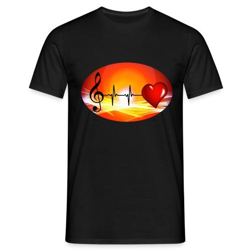 Music and Hearth - Männer T-Shirt