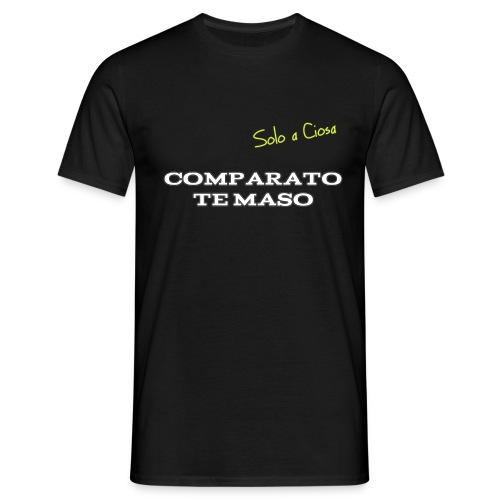 COMPATATO TE MASO - Maglietta da uomo