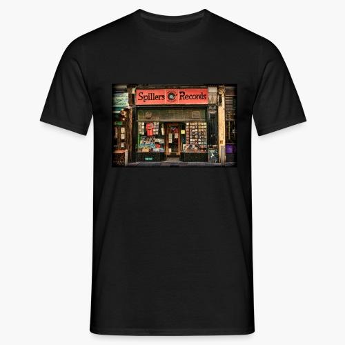 Spillers Records Shop - Men's T-Shirt