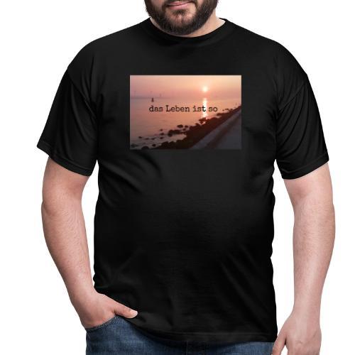 Sunset dLis - Männer T-Shirt