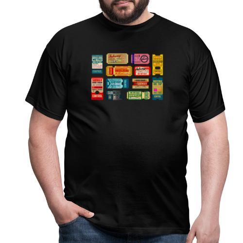 SUBWAY BROADWAY - Camiseta hombre