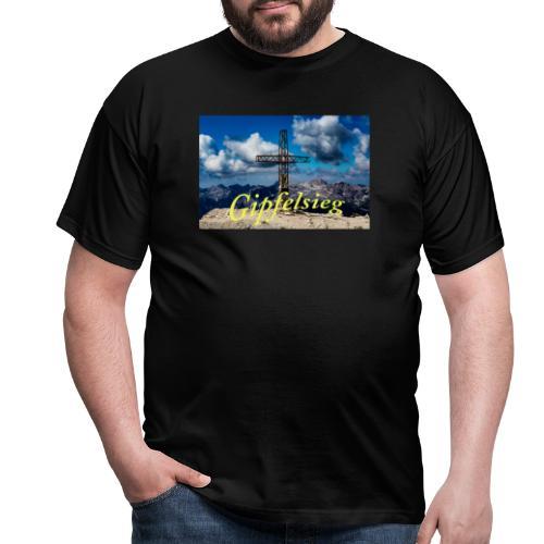 Gipfelsieg - Männer T-Shirt