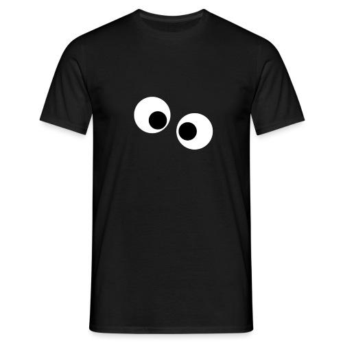 silly eyes - Mannen T-shirt