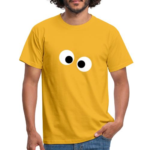 silly eyes - Mannen T-shirt