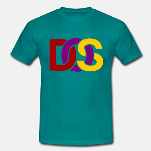 Retro MS DOS Logo - Men's T-Shirt