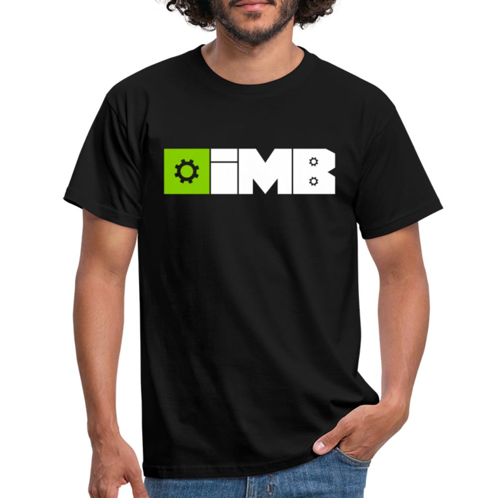 IMB Logo (plain) - Men's T-Shirt - black