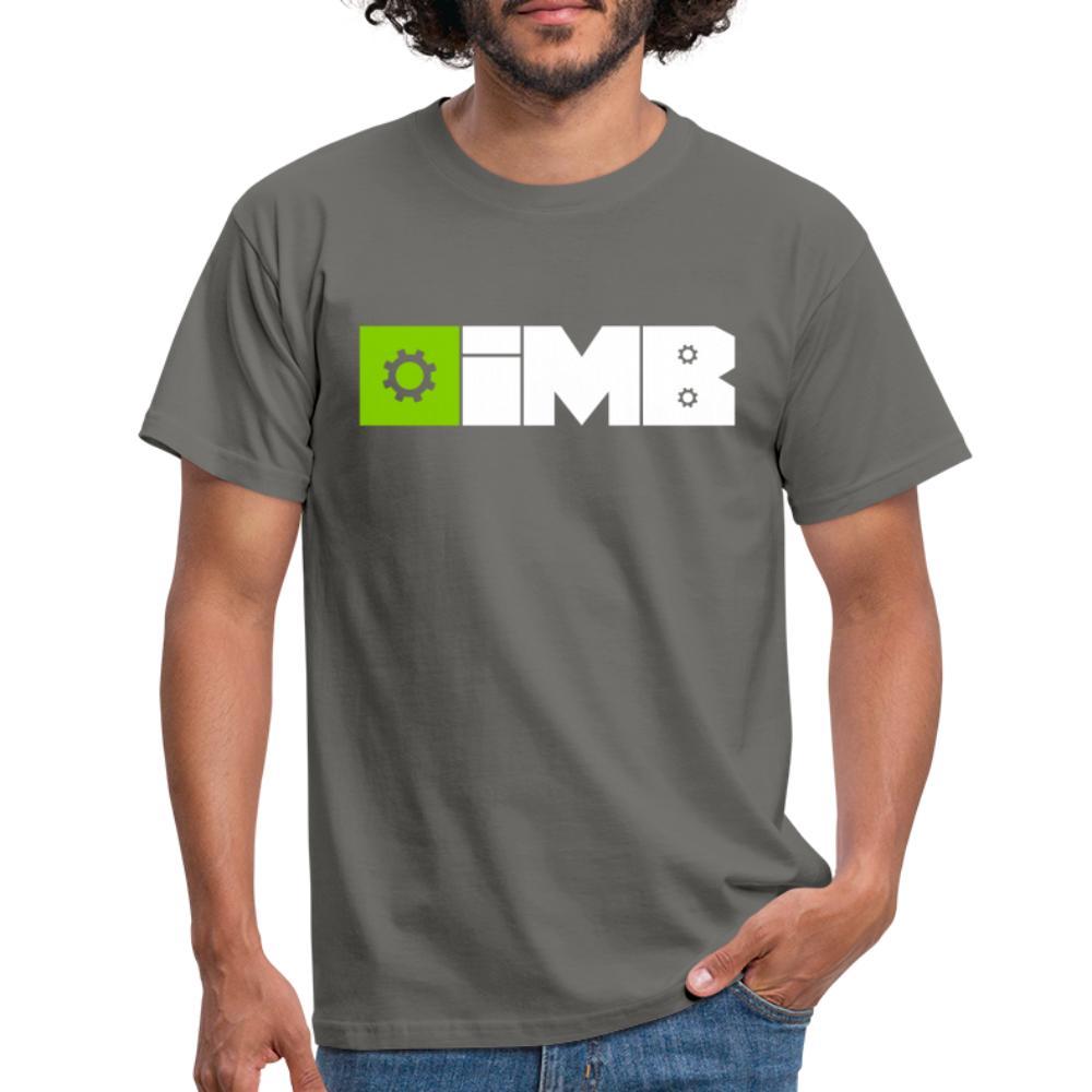 IMB Logo (plain) - Men's T-Shirt - graphite grey