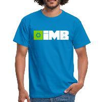 IMB Logo (plain) - Men's T-Shirt - royal blue