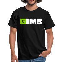 IMB Logo (plain) - Men's T-Shirt black