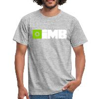 IMB Logo (plain) - Men's T-Shirt - heather grey