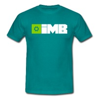 IMB Logo (plain) - Men's T-Shirt - diva blue