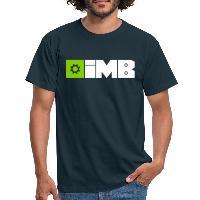 IMB Logo (plain) - Men's T-Shirt - navy