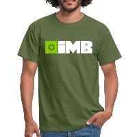 IMB Logo (plain) - Men's T-Shirt military green