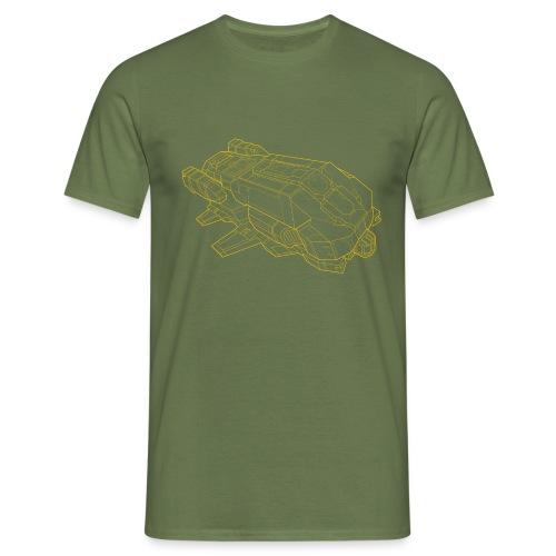 type7 yellow - Men's T-Shirt