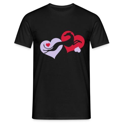 Lévrier Valentin - T-shirt Homme