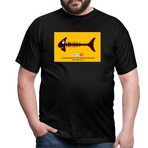 REGA-TV: Fisch - Männer T-Shirt
