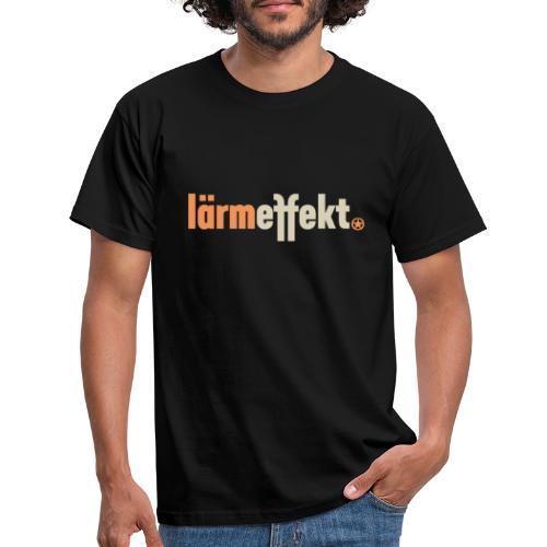 lärmeffekt Schriftzug normal - Männer T-Shirt