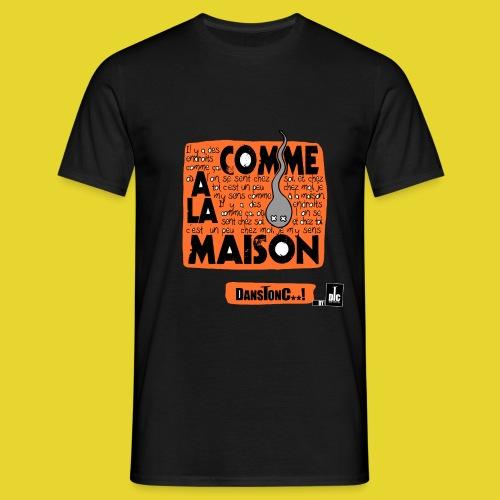 COMME A LA MAISON png - T-shirt Homme