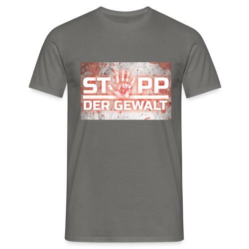 STOPP DER GEWALT - Men's T-Shirt