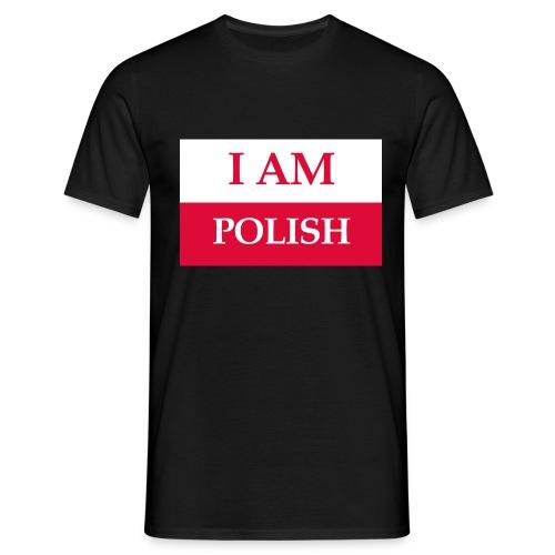 I am polish - Koszulka męska