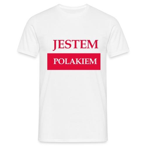 Jestem Polakiem - Koszulka męska