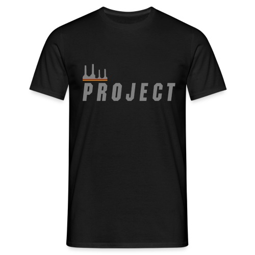 The Project, silver - Men's T-Shirt