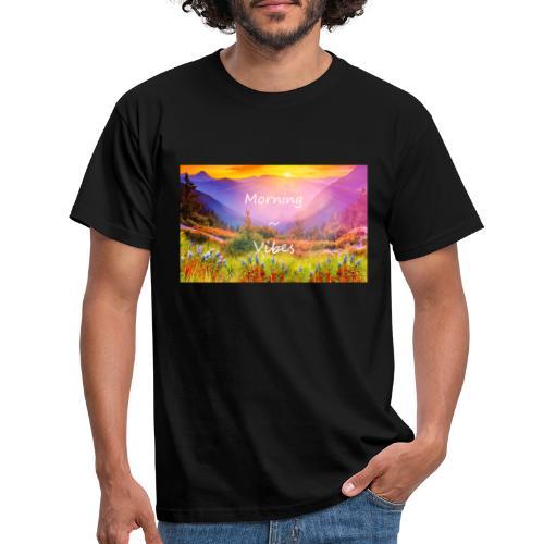 Morning vibes - T-shirt herr