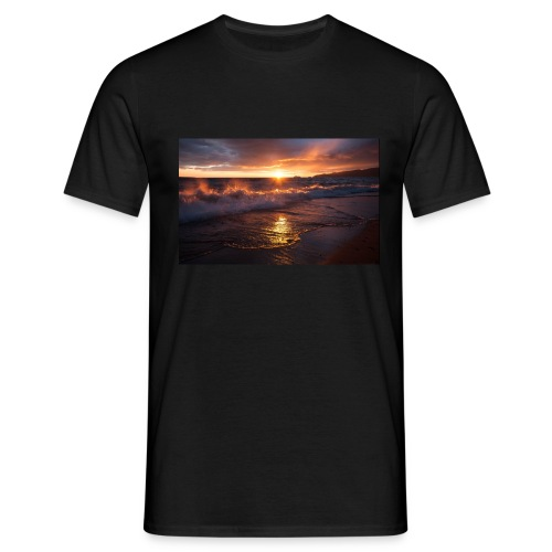 Magic sunset - Camiseta hombre