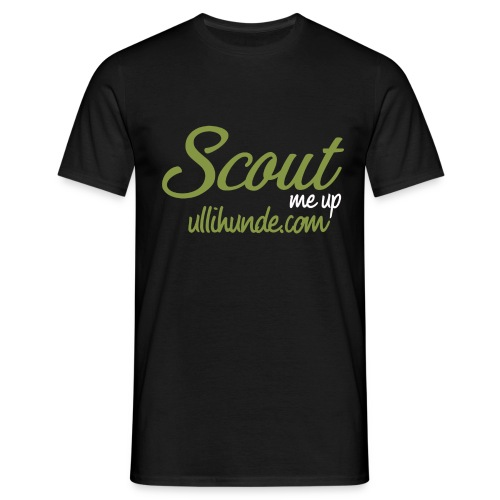Scout me up - Männer T-Shirt