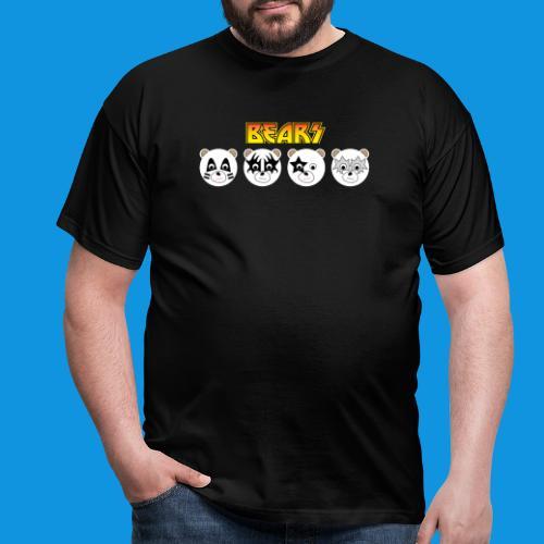 Kiss Bears.png - Men's T-Shirt
