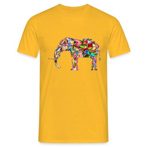 Gestandener Elefant - Männer T-Shirt