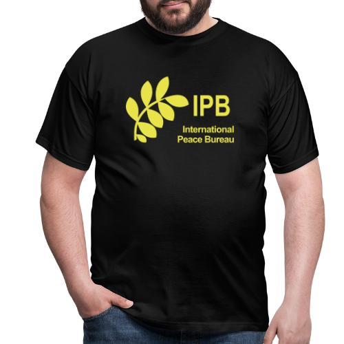International Peace Bureau IPB Logo - Men's T-Shirt