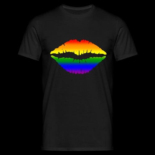 Gay Gesichtsmaske - Männer T-Shirt