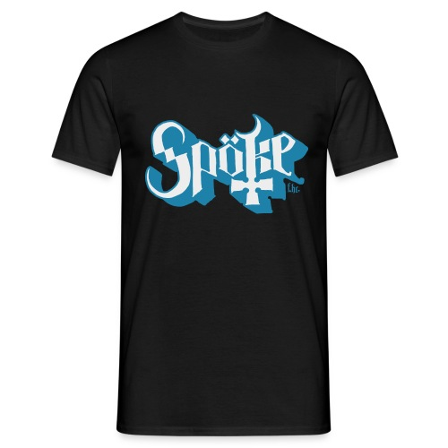 spoke blue - Men's T-Shirt